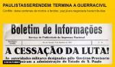 Paulistas se rendem: termina a guerra civil