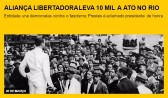 Aliança Libertadora leva 10 mil a ato no Rio