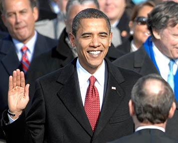 Obama assume presidência dos EUA
