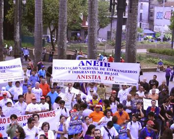 Brasil anistia imigrantes ilegais