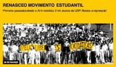Renasce o movimento estudantil