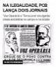 Na ilegalidade, PCB lança dois jornais