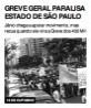 Greve geral paralisa estado de São Paulo