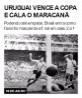 Uruguai vence a Copa e cala o Maracanã