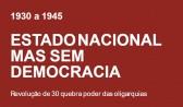 Estado Nacional, mas sem democracia