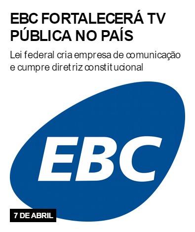 EBC fortalecerá TV pública no país