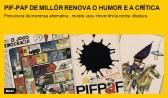 PIF-PAF de Millôr renova o humor e a crítica