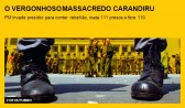 O vergonhoso massacre do Carandiru