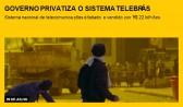 Governo privatiza o sistema Telebrás