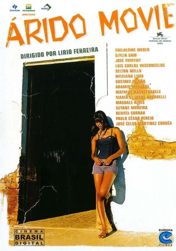 """Capa do DVD """"Árido Movie""""  (2006), de Lírio Ferreira"""
