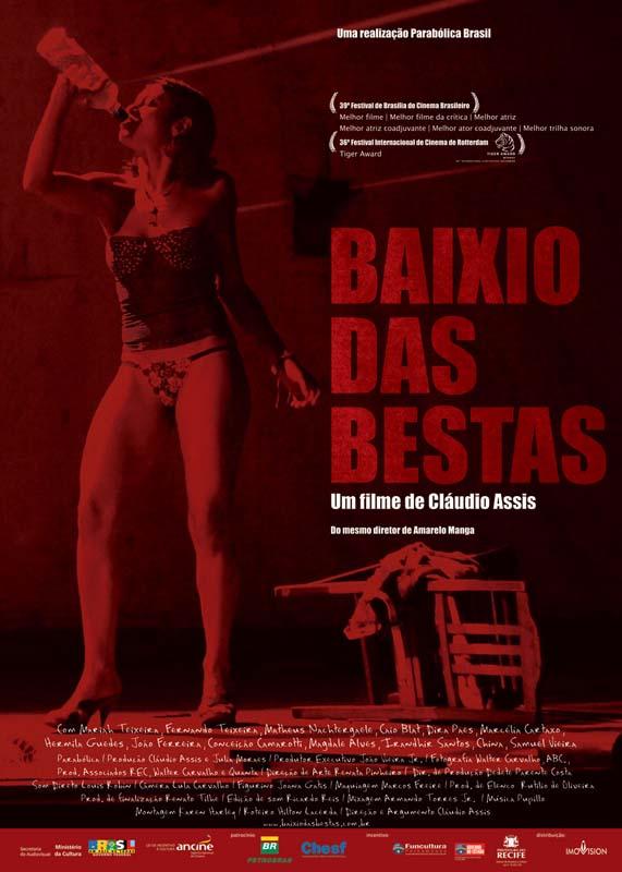 """Cartaz do filme """"Baixio das Bestas""""  (2006), de Cláudio Assis"""