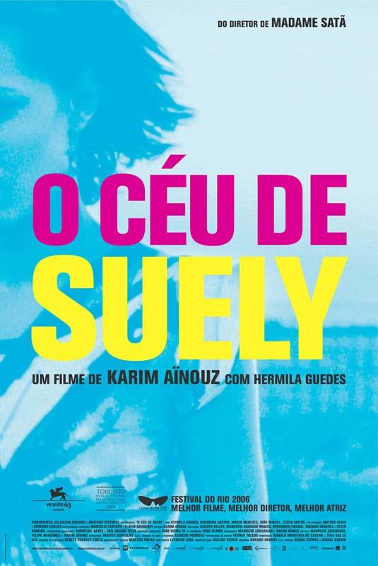 """Cartaz de """"O Céu de Suely"""" (2006), de Karim Aïnouz"""