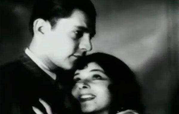 """Cena do filme mudo """"Lábios sem Beijos""""  (1930), de Humberto Mauro, a primeira produção da Cinédia"""