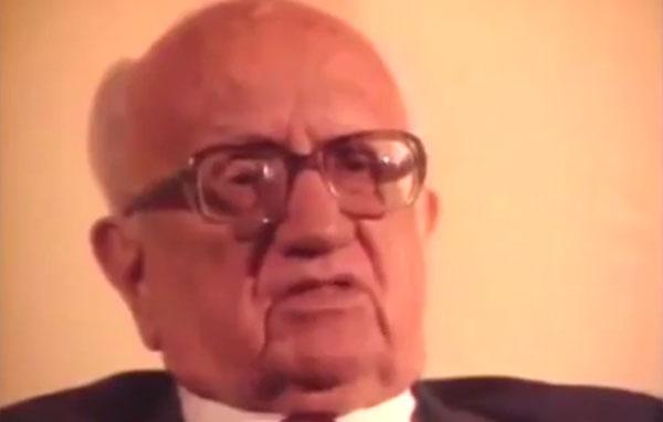 """Depoimento do jornalista Barbosa Lima Sobrinho  no documentário""""1930: Tempo de Revolução"""" (1990), de Eduardo Escorel"""
