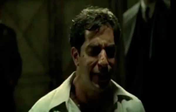 """Trecho do filme """"Olga"""",  de Jayme Monjardim (2004), que reconstitui a tortura ao argentino Rodolfo Gholdi"""