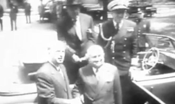"""Filme """"Getúlio Vargas"""" (1974), de Ana Carolina, mostra a visita de Dutra a Truman"""
