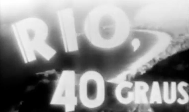 """Famosa abertura de """"Rio, 40 Graus"""": uma panorâmica sobre a cidade do Rio de Janeiro ao som de """"A Voz do Morro"""" (Zé Kéti). Trecho do filme """"Rio, 40 Graus"""" (1955), de Nélson Pereira dos Santos"""