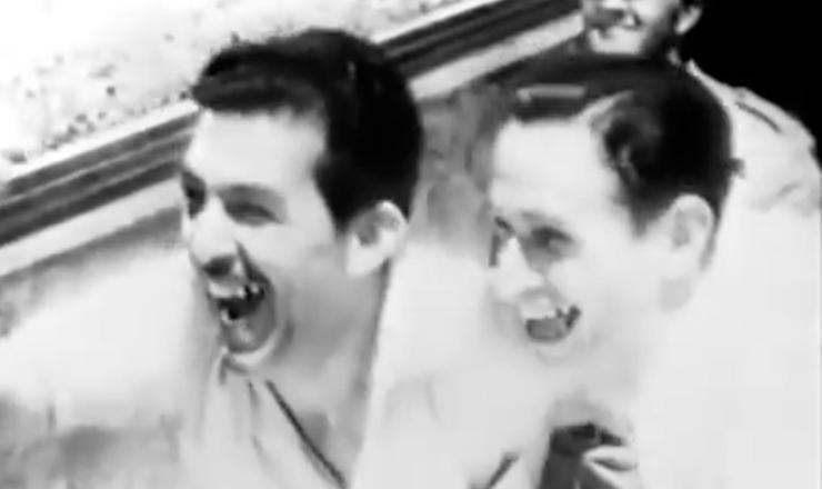 """Em contraste, duas imagens do Brasil: a violência e a exaltação. Trecho do filme """"Rio, 40 Graus"""" (1955), de Nelson Pereira dos Santos"""