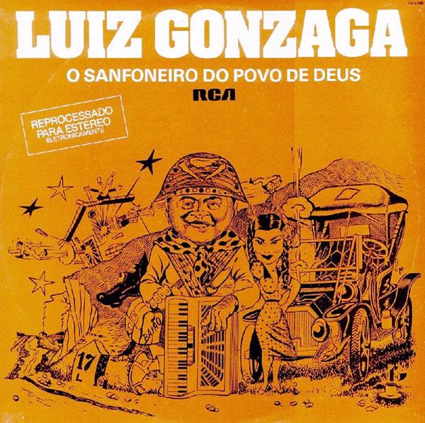 """Trecho de """"Louvação a João 23"""", deMonsenhor José Mourão e Nartan Macedo, na voz do Rei do Baião, Luiz Gonzaga"""