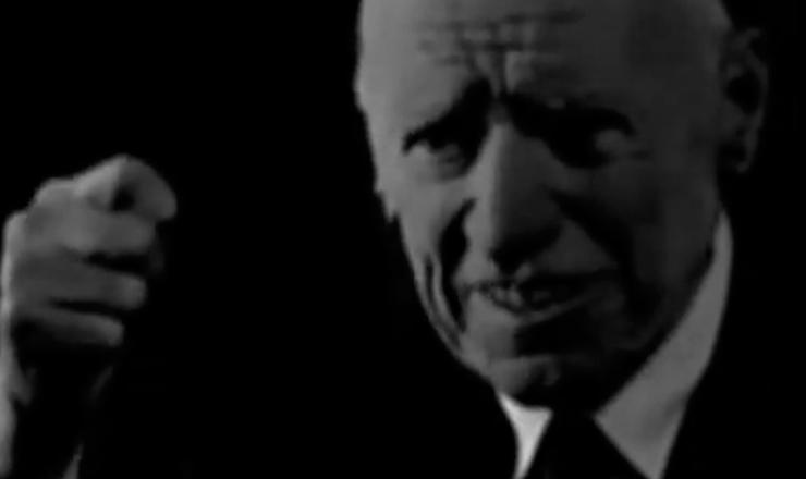 """Depoimento de veterano da Revolução Constitucionalista,  em trecho do documentário""""A Guerra dos Paulistas"""" (2002), de Laís Bodanzkye LuizBolognesi"""