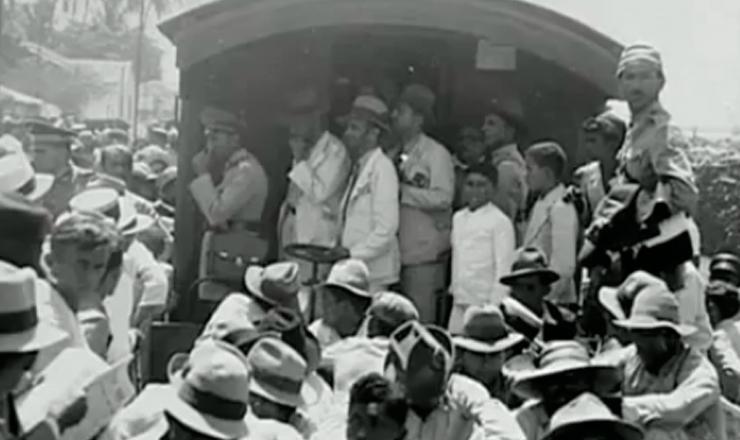 """Fim do levante em Natal.Trecho do documentário """"1935: o Assalto ao Poder"""" (2002), de Eduardo Escorel"""