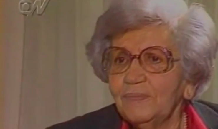"""Depoimento de Heloísa Ramos, viúva de Graciliano, sobre a prisão do escritor em 1936.Trecho do """"Programa Arquivo N"""", da GloboNews, sobre o Estado Novo"""