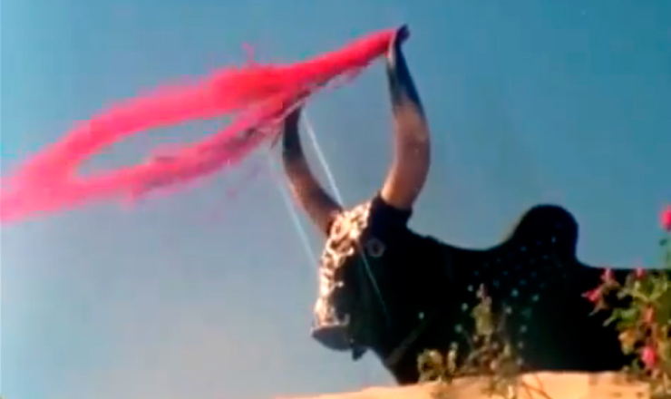 """Trecho do filme """"O Caldeirão de Santa Cruz do Deserto"""" (1987), de RosembergCariry"""