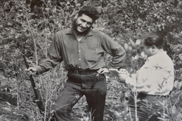 Hugo Blanco Galdós, líder da campanha Terra ou Morte. Crédito: Reprodução