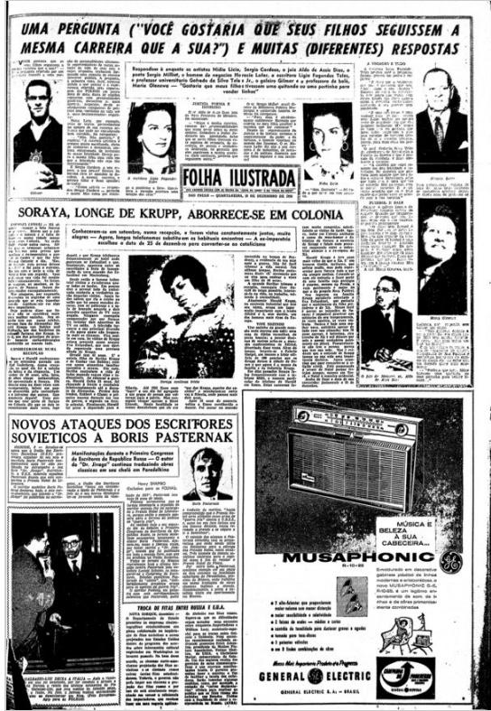 Capa da Folha Ilustrada