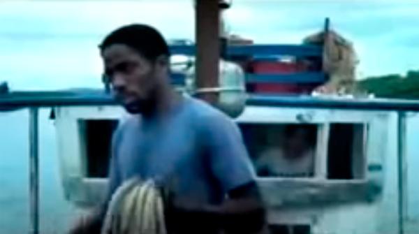 """Lázaro Ramos, Alice Braga e Wágner Moura em trailer de """"Cidade Baixa""""  (2005), de Sérgio Machado"""