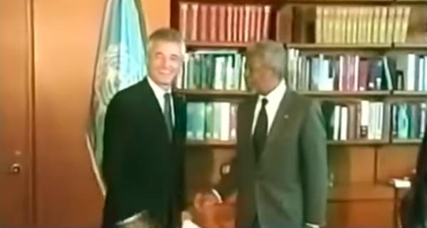 """Trecho do curta """"In Memoriam"""",  produzido pela ONU em homenagem a Sérgio Vieira de Mello"""