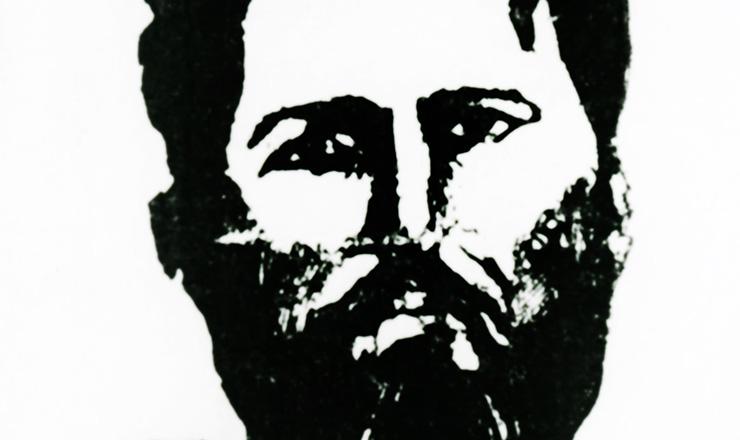 Imagem de Luís Carlos Prestes emcartão-postal  da Aliança Nacional Libertadora para arrecadação de fundos