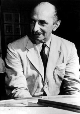 O urbanista Lúcio Costa, 1960. Crédito: M. M. Fontenelle/Arquivo Público do Distrito Federal