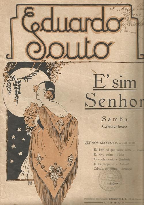 """Francisco Alves canta  """"É, Sim Senhor"""", de Eduardo Souto"""