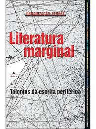 """Capa do livro """"Literatura Marginal: Talentos da Escrita Periférica""""  (2005), organizado por Ferréz"""