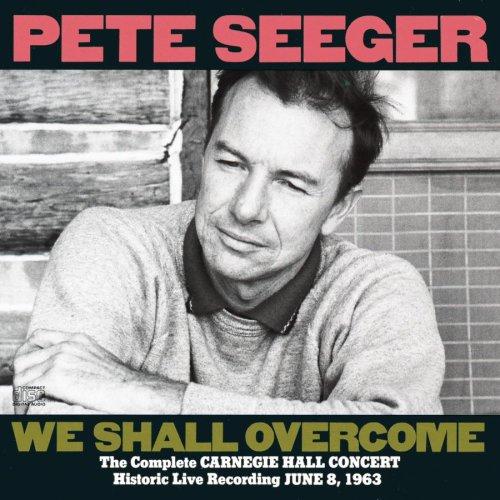 """Trecho de """"We Shall Overcome"""", deGuy Carawan, Zilphia Norton, Frank Hamilton e Pete Seeger, na voz de Pete Seeger"""
