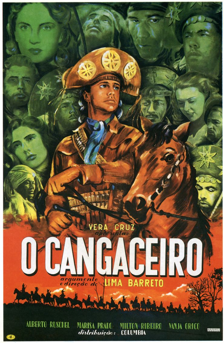 "Cartaz do filme ""O cangaceiro"""