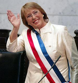 "Trecho de ""Estoy Contigo"",  de autor desconhecido, jingle dacampanha de Michelle Bachelet"