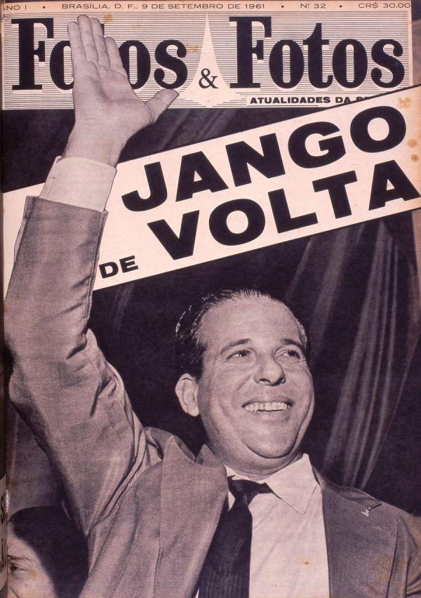 """Capa da revista """"Fatos & Fotos"""",  edição de 9 de setembro de 1961"""