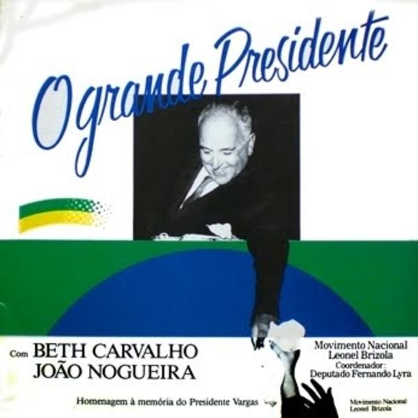 """Trecho de """"Hino da Legalidade"""" (gravação de 1989), deDemósthenes Gonzalez, Lara de Lemos e Paulo César Pereio"""