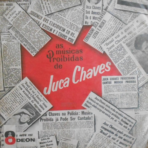 """Juca Chaves canta """"Legalidade""""  (1962), de sua autoria"""