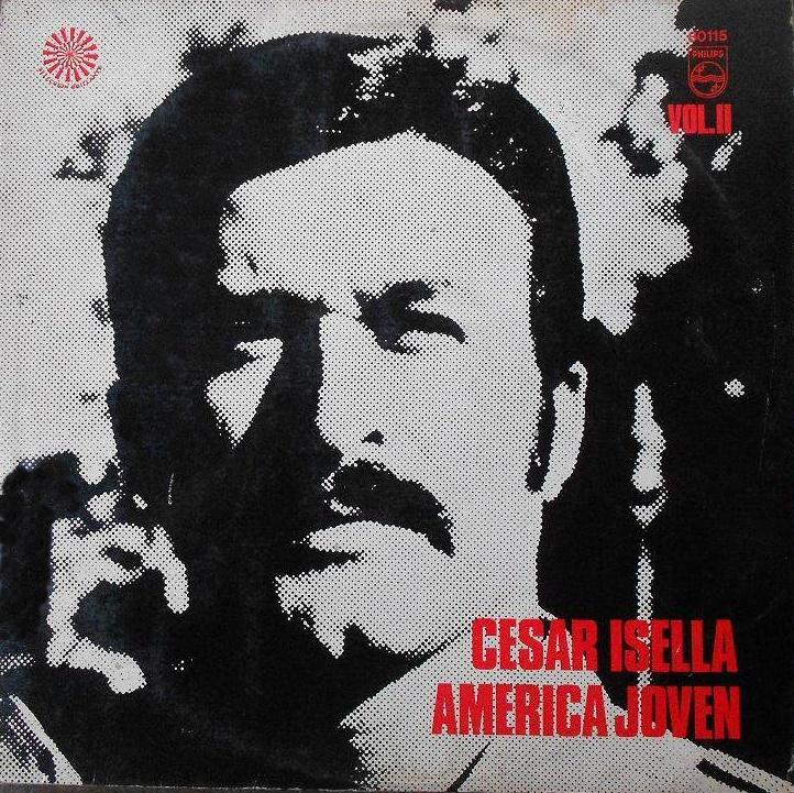"""César Isella canta """"Canción con todos"""",  composta comArmando Tejada Gómez"""