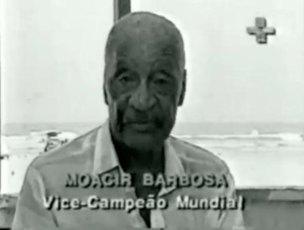 Entrevista com o goleiro Barbosa sobre a virada uruguaia em 1950