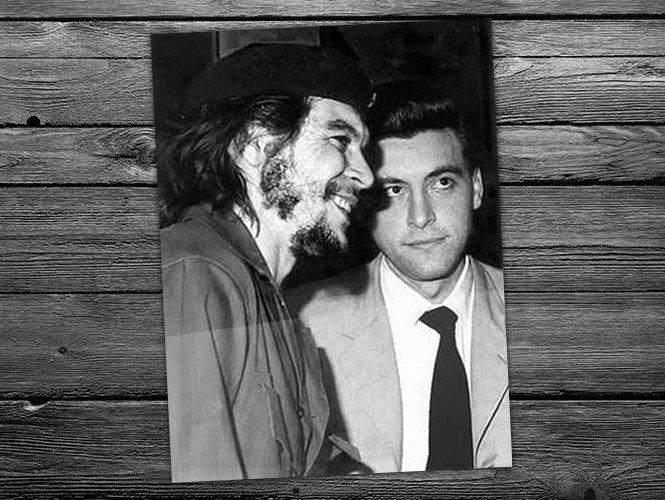 Che Guevara conheceu Jorge Masseti em Sierra Maestra, através do jornal Prensa Latina.