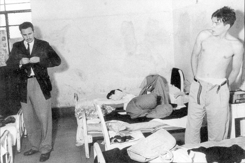Fidel Castro e Che Guevara, na cidade do México, onde foram realizados os preparativos para a Revolução Foto: OAH
