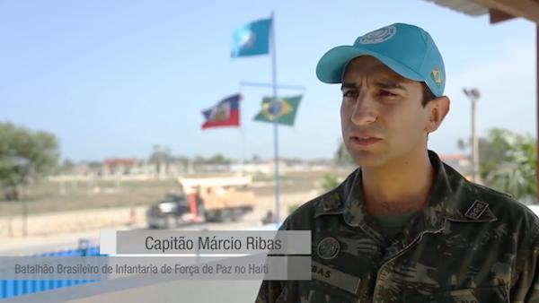 Militar brasileiro  fala sobre resultados da Força de Paz em Cité Soleil