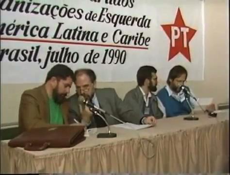Primeiro encontro do Foro de São Paulo, em 1990
