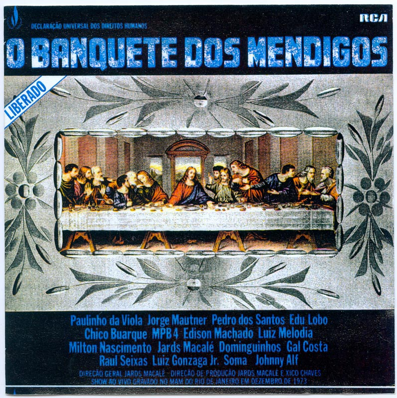 """Música do show e do LP """"O Banquete dos Mendigos"""""""