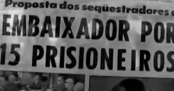 O manifesto dos sequestradores do embaixador americano, Charles Elbrick