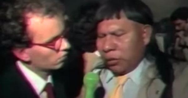 """Trecho de """"Ernesto Varela, o Repórter"""", personagem de Marcelo Tas"""